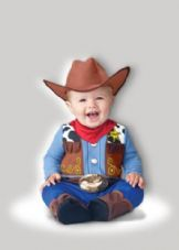 Baby Wee Wrangler Cowboy Costume